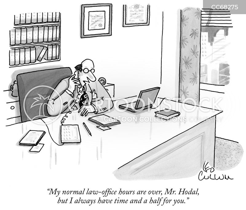 important client cartoon