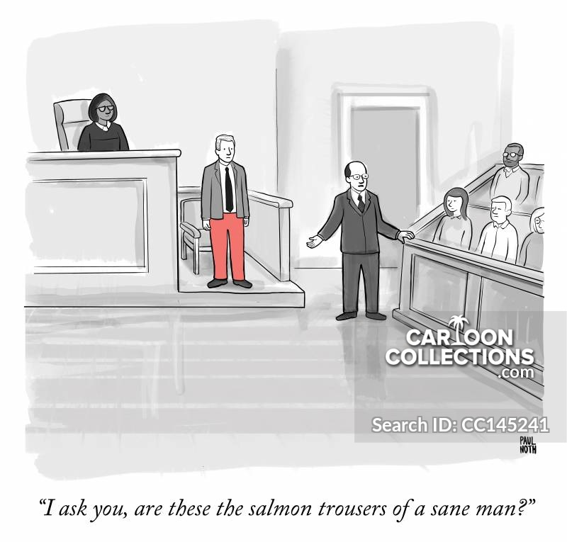 Witness Stand cartoon