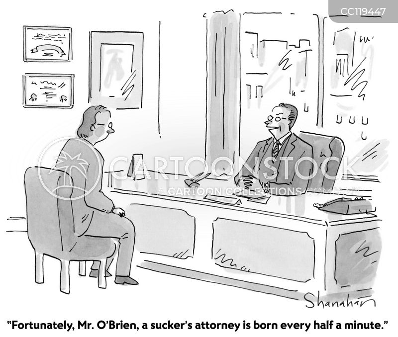 con artists cartoon