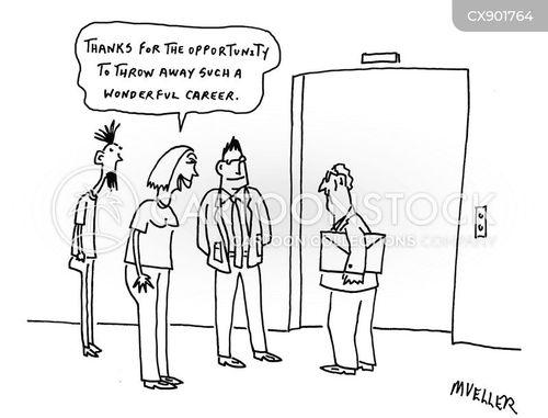 promoted cartoon