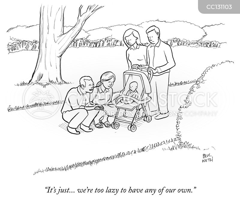 childless couples cartoon