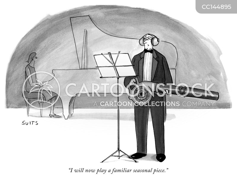 performer cartoon