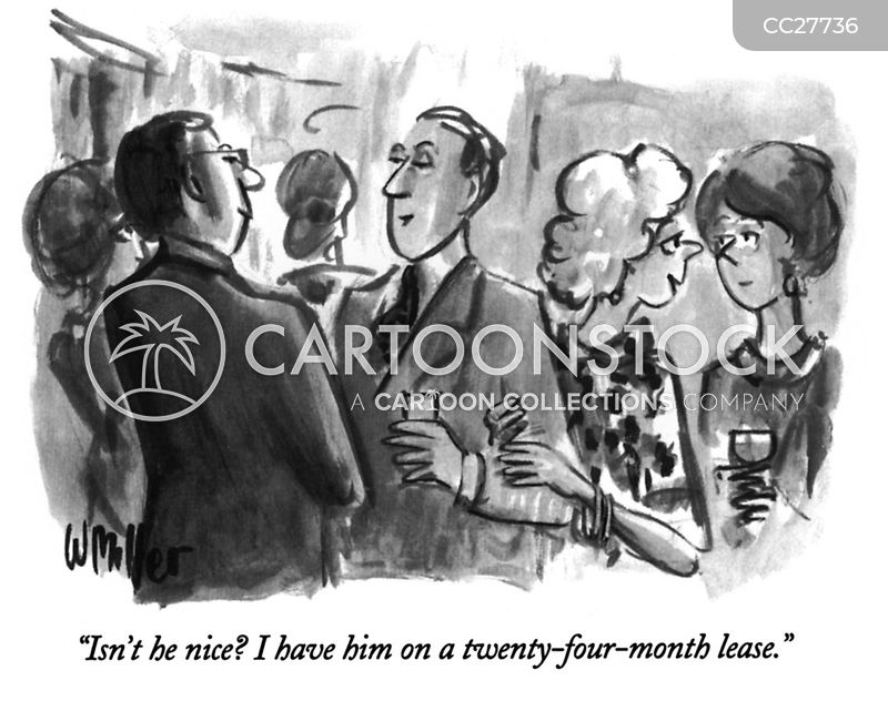 leasing cartoon