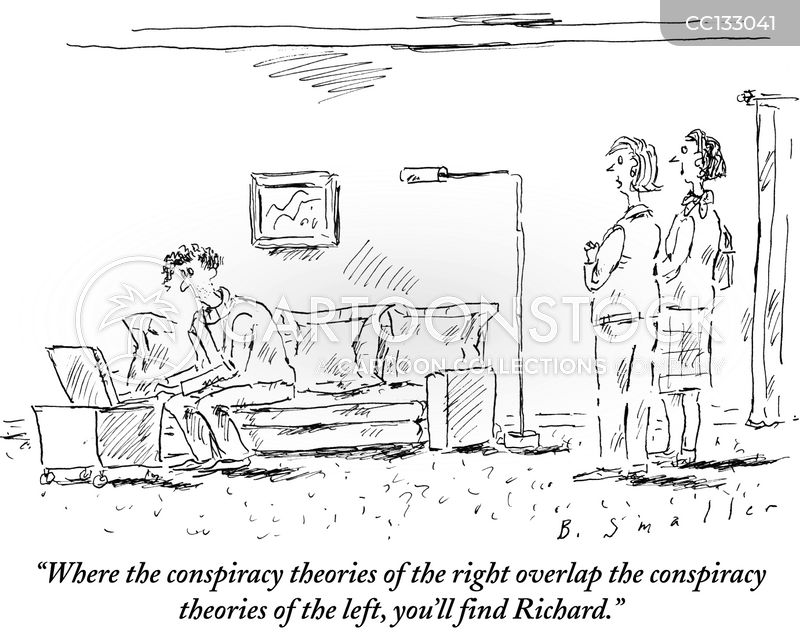 conspiracy theories cartoon