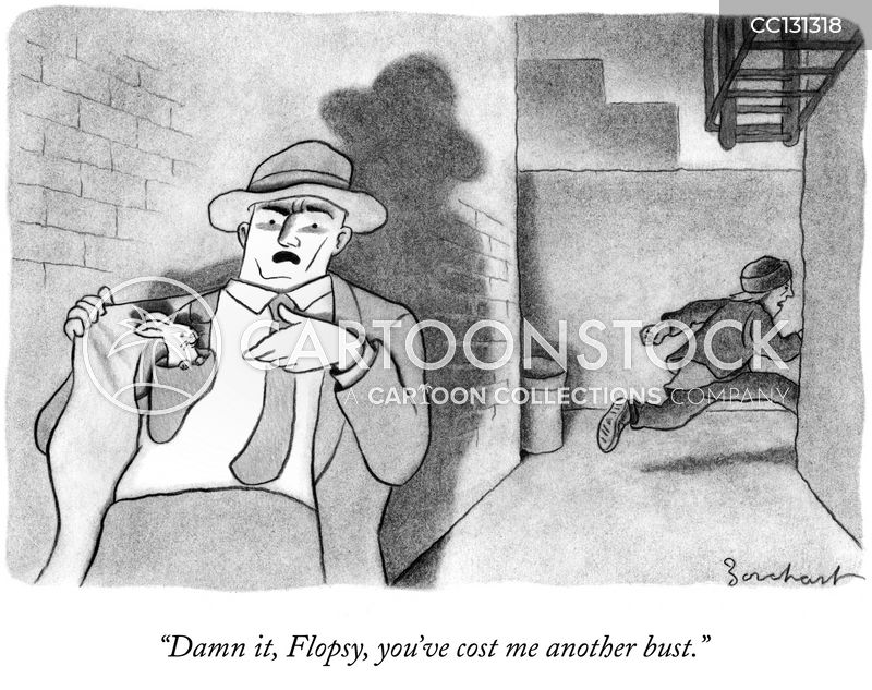 Noir cartoon