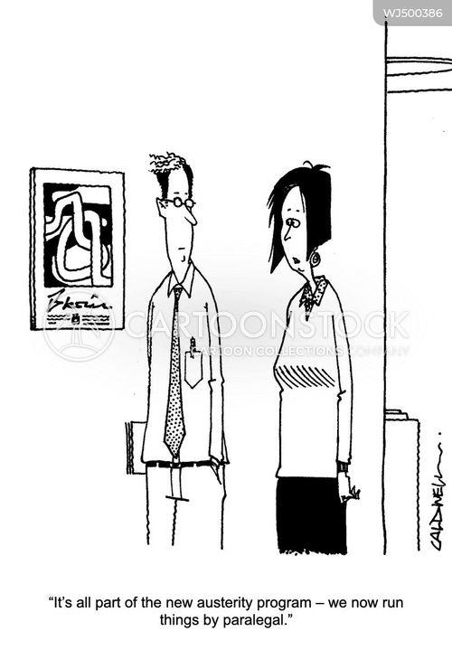 efficiency savings cartoon