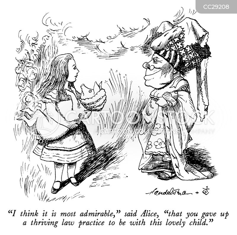 Lewis Carroll cartoon