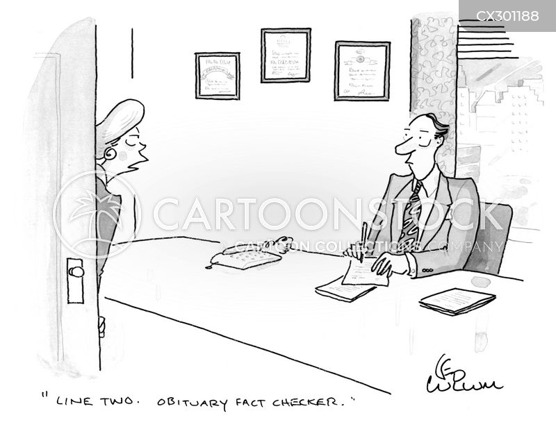 obituary cartoon