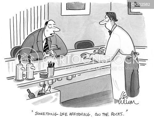 midlife crisis cartoon