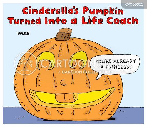 life coach cartoon