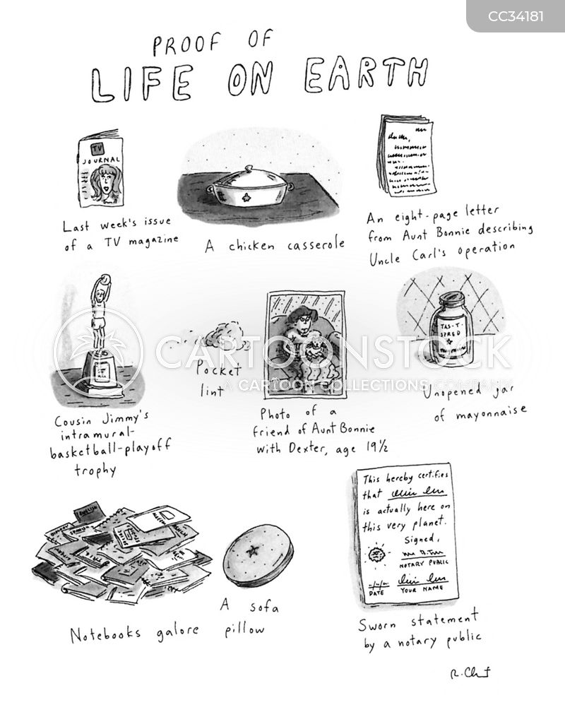lives cartoon