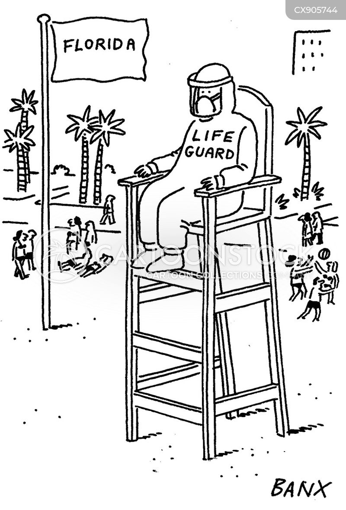 spreading cartoon