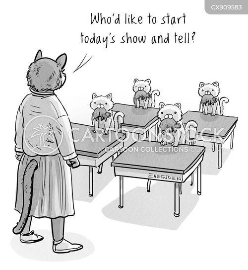 starting cartoon