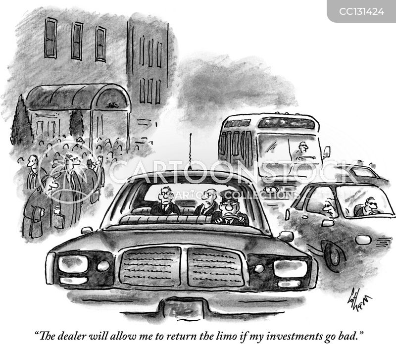 Limousines cartoon