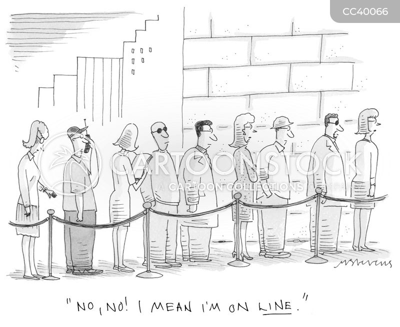lines cartoon