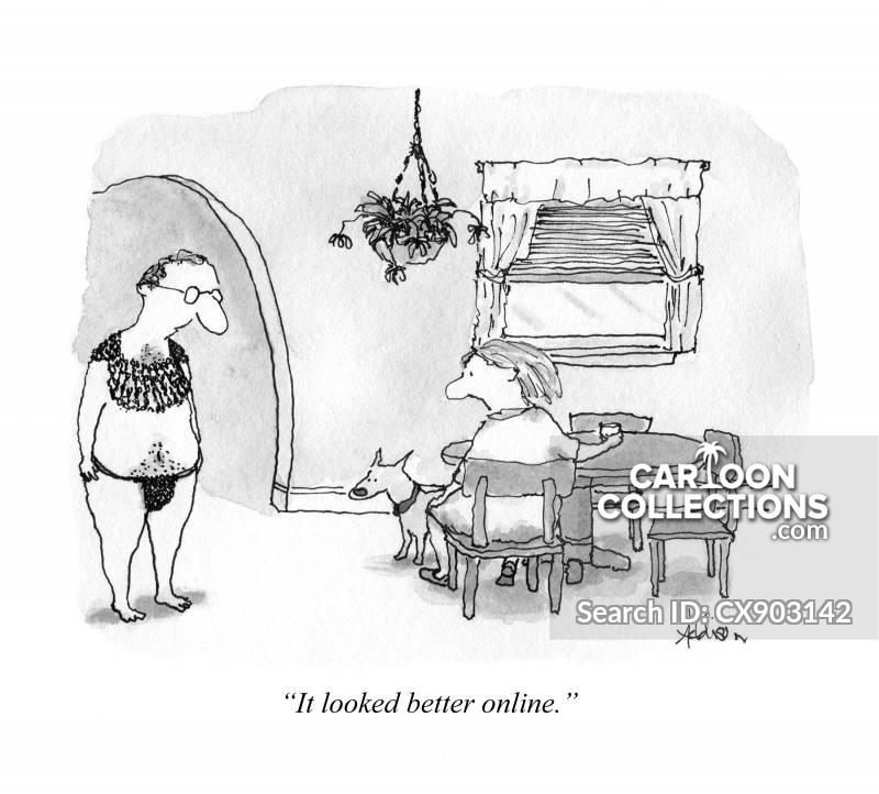 lingerie cartoon