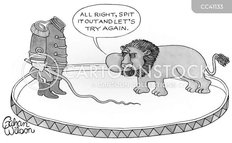 circuses cartoon