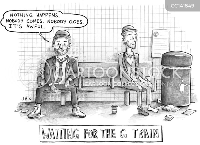 waits cartoon