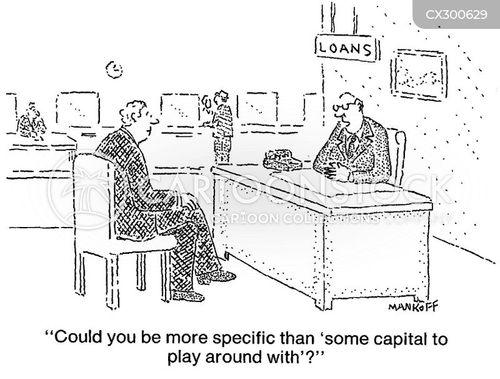 lender cartoon
