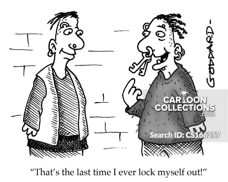Keyrings cartoon