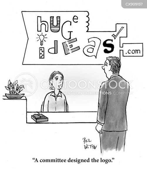 logos cartoon