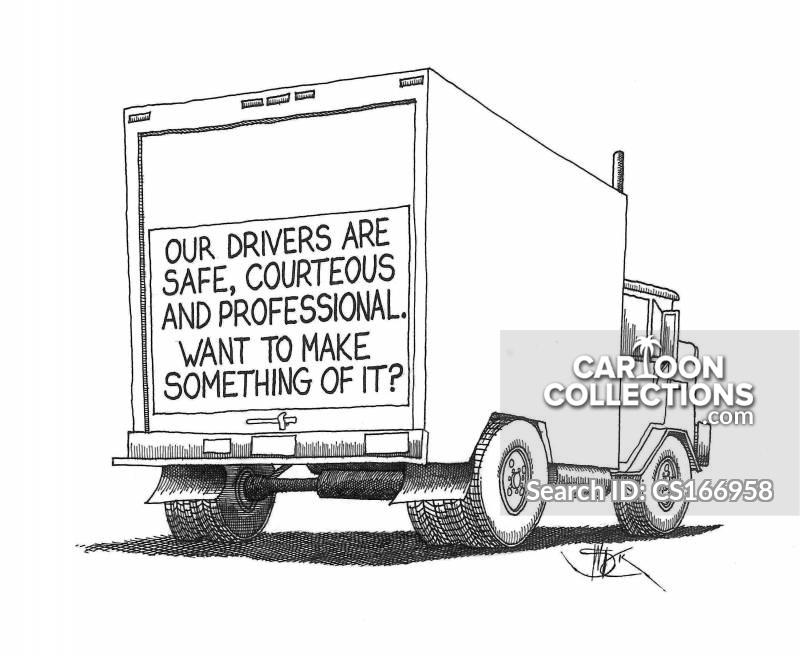road etiquettes cartoon