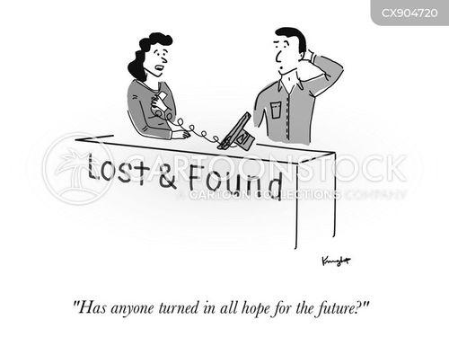 lost & found cartoon