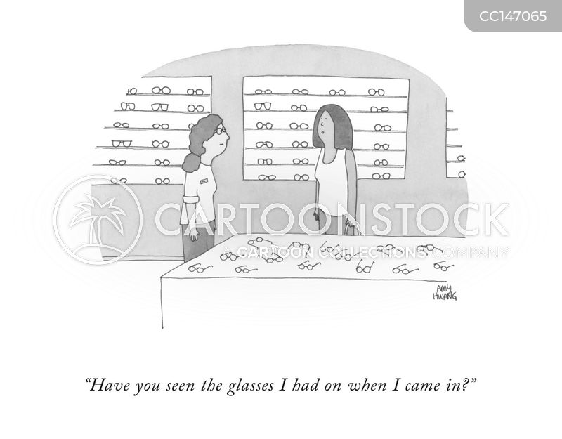 specs cartoon