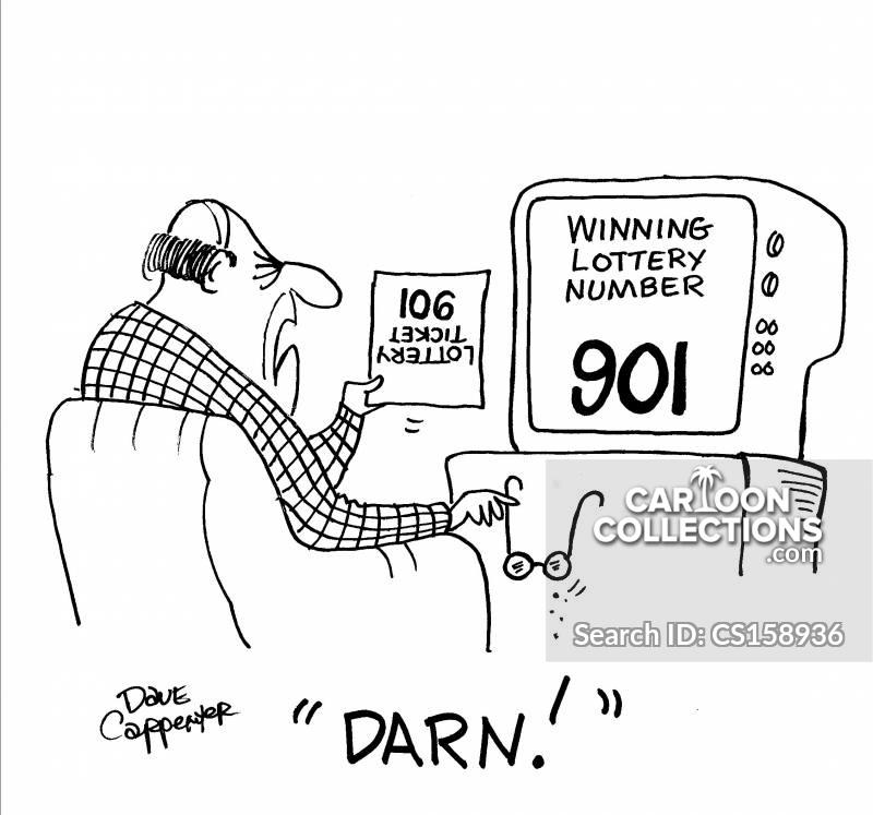 winning number cartoon
