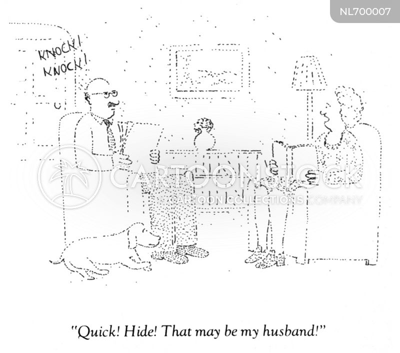 failed marriage cartoon