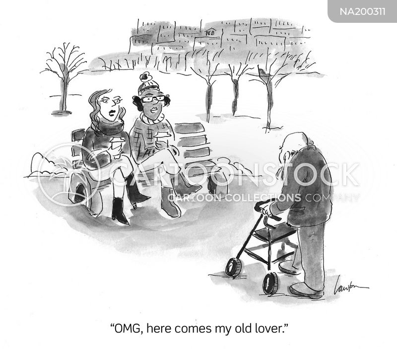 old lover cartoon
