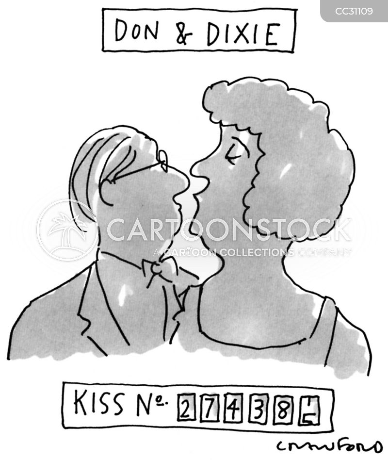 snogging cartoon