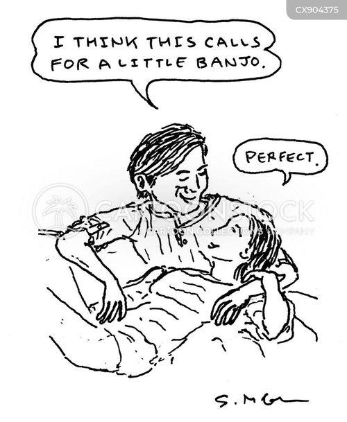 banjo cartoon