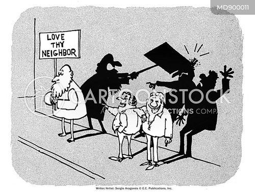 preacher cartoon