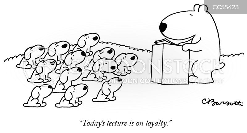 loyalty cartoon