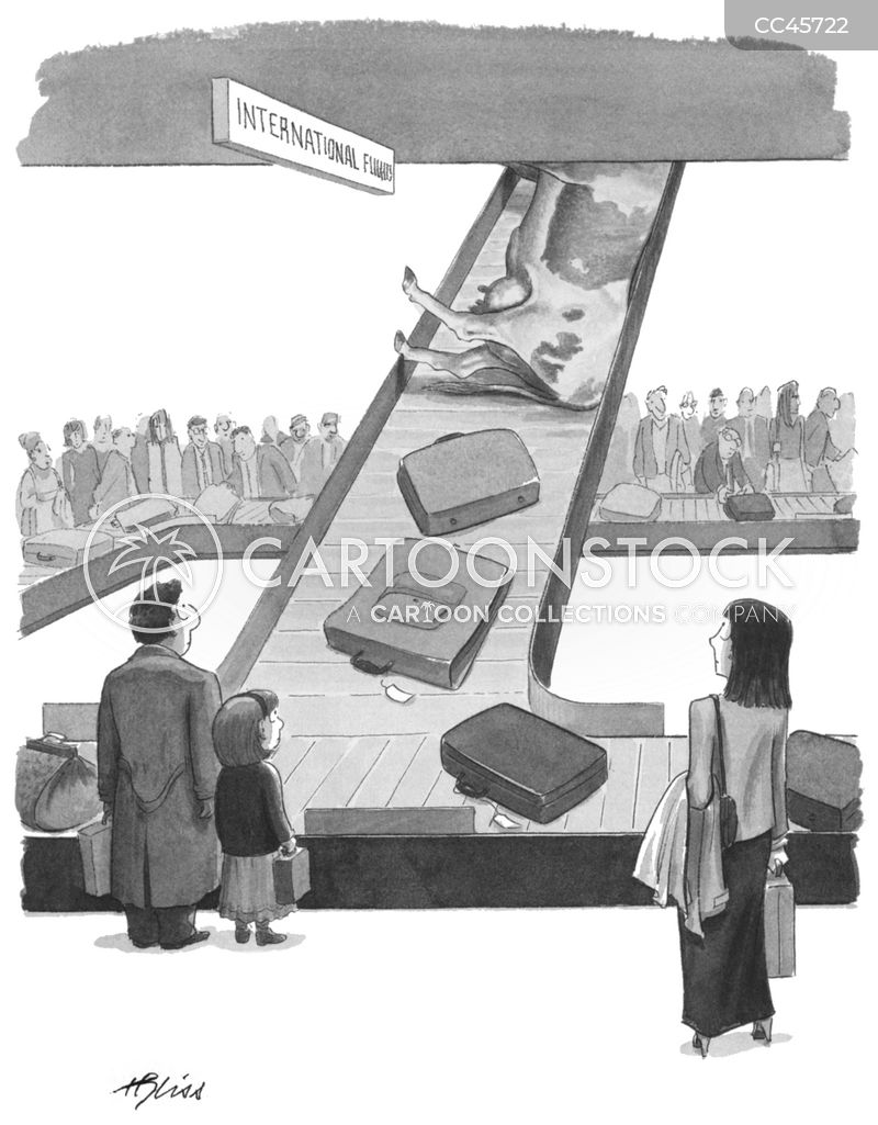 air travels cartoon