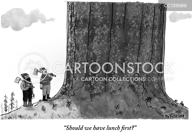 lumbermen cartoon