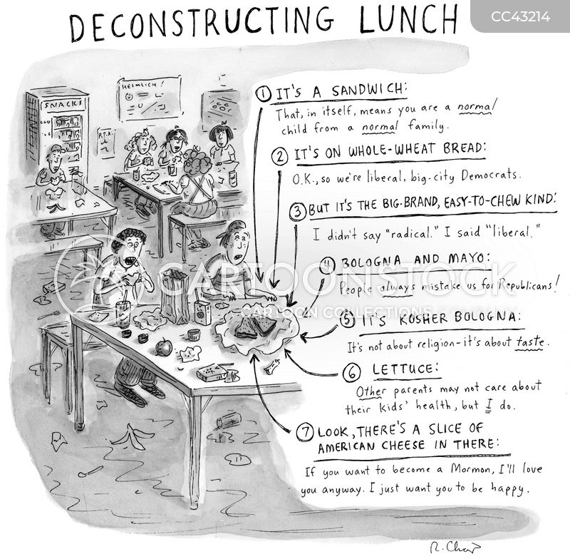 lunch break cartoon