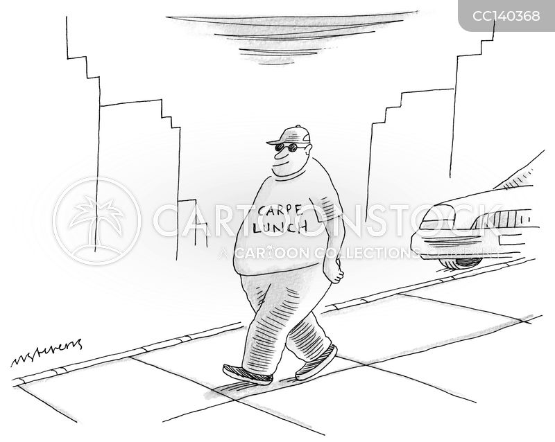 obesity cartoon