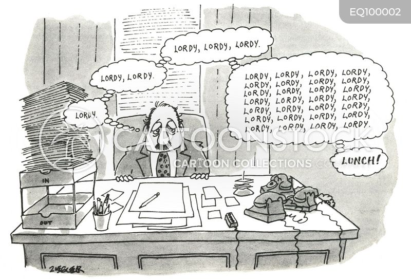 white collar job cartoon