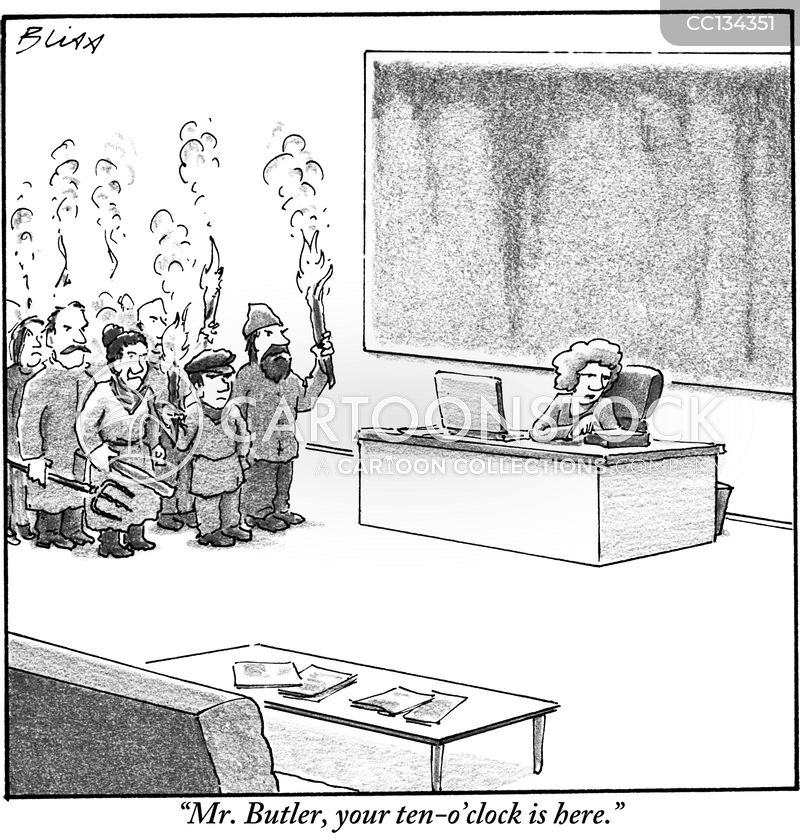 chief executives cartoon