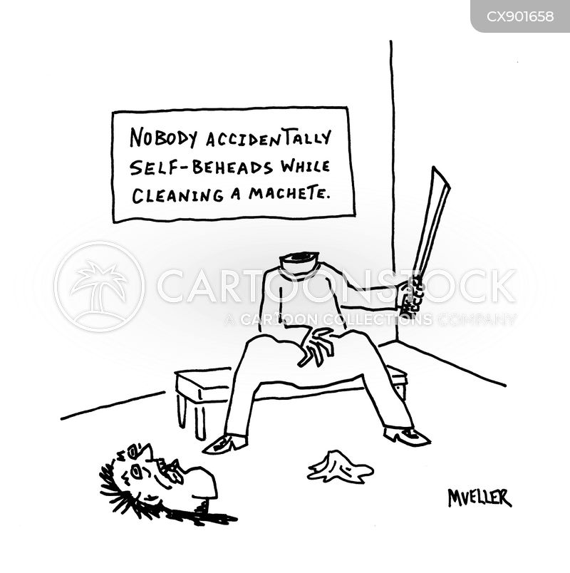 accidental death cartoon