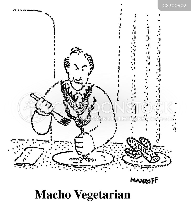 meat lover cartoon