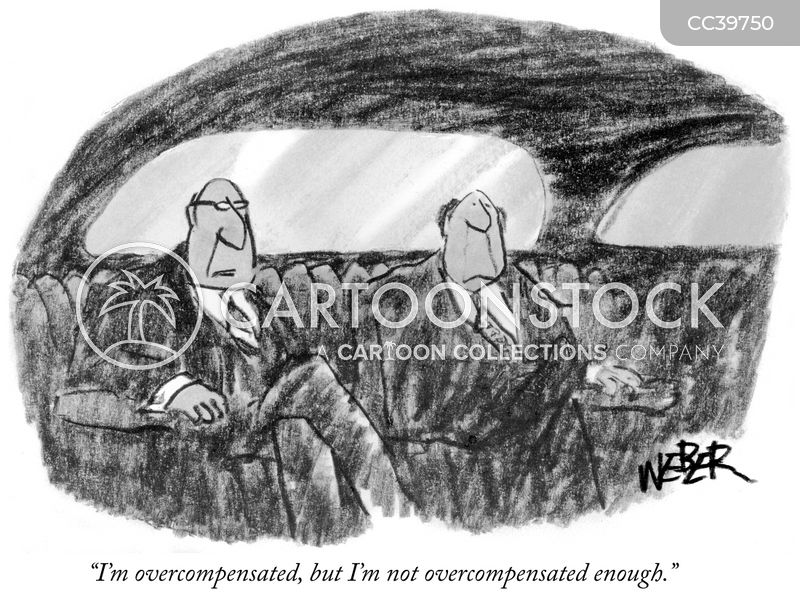 overcompensate cartoon