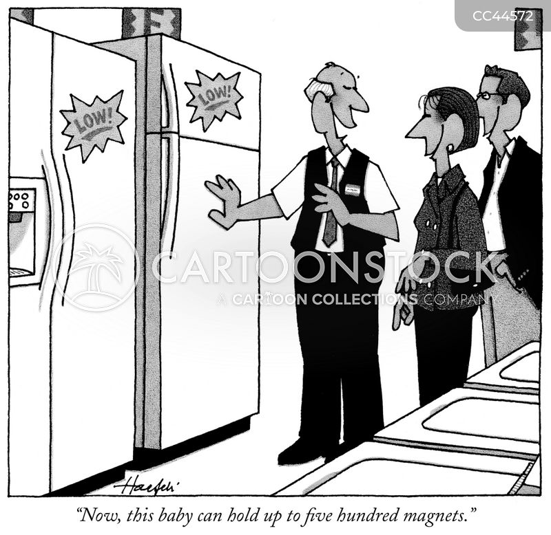 sales pitches cartoon
