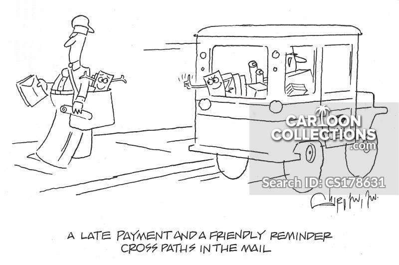 friendly reminder cartoon