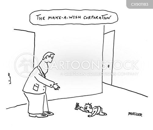 uncharitable cartoon