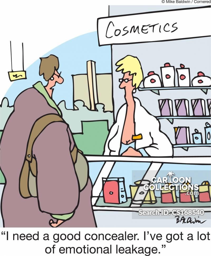 concealers cartoon
