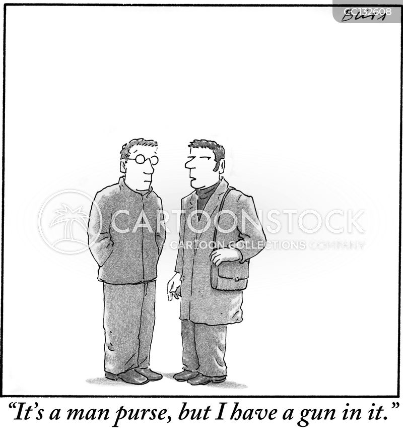 Purse cartoon