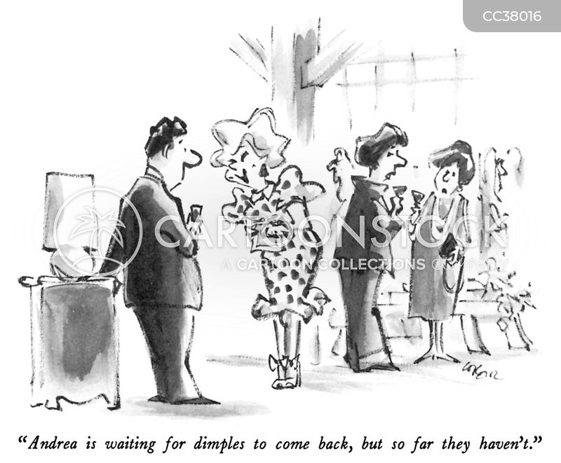 in fashion cartoon